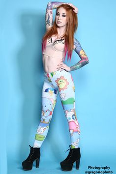 f26f0d0af4d61 Big Day Out leggings Big Day Out, Living Dead Clothing, Tattoos For Women,