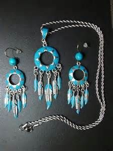 Native American Turquoise Colored Jewelry Set. $18.99 Click pic for ...