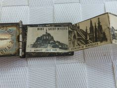 Fine Victorian Mont St Michel Miniature Postcard Book Pendant | eBay