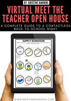 Online Classroom, Classroom Rules, Google Classroom, Classroom Ideas, Flipped Classroom, Classroom Displays, Classroom Resources, Letter To Teacher, Meet The Teacher