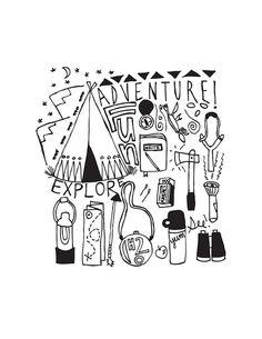 Free Adventure print by www.irocksowhat.com
