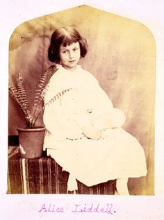 """Alice Liddell, the inspiration for """"Alice in Wonderland"""", photographed by Charles Dodgson, better known by his pen name, Lewis Carroll."""