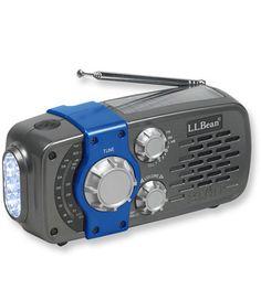Mini Solar Emergency Radio: Radios | Free Shipping at L.L.Bean