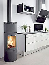 Contemporary wood-burning stove- Westfire
