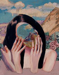 Kai Fine Art is an art website, shows painting and illustration works all over the world. Art Inspo, Kunst Inspo, Arte Gcse, Gcse Art, Art And Illustration, Illustrations, Art Du Collage, Photocollage, A Level Art