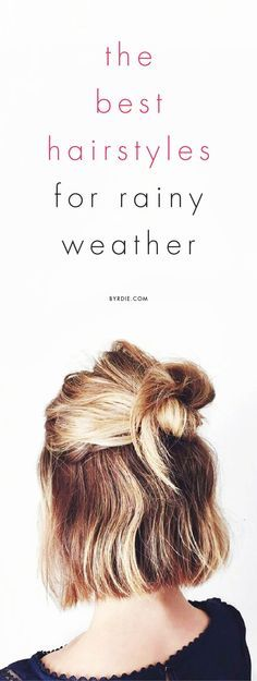 about Rainy Day Hairstyles on Pinterest Messy Ponytail Hairstyles ...