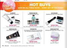 Ulta.com: Free 12 pcs gift with $75 purchase + 21 Days of Beauty