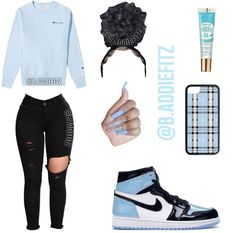 On would you wear this comment down below b addiefitz for more spam account woahs spam requested before yall start Cute Lazy Outfits, Baddie Outfits Casual, Swag Outfits For Girls, Teenage Girl Outfits, Cute Swag Outfits, Girls Fashion Clothes, Teen Fashion Outfits, Trendy Outfits, Tween Fashion