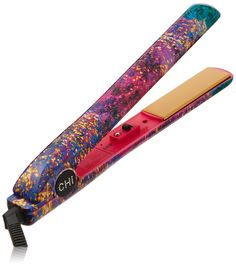 "Amazon.com: CHI PRO 1"" Ceramic Flat Iron in Aurora - Ionic Tourmaline Hair Straightener: Luxury Beauty"