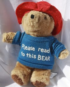 Please read to Paddington Bear (traveling from house to house, with log kept).