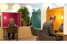 Vitra Offices, Weil am Rhein : Sevil Peach Alleen fijn bij echt concentratiewerk.