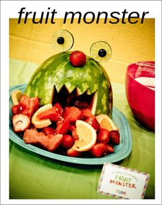 Porcupine Watermelon Centerpiece | WATERMELON: A Teapot, Birthday Cake, Angry Birds, Valentines ...