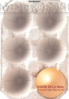 Evasión en la Granja (Chicken Run), película de animación hecha con plastilina, 2000. Fotografía de Ángel Becerril.