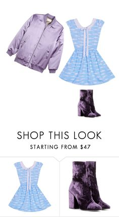 """""""Untitled #930"""" by patpotato ❤ liked on Polyvore featuring Dries Van Noten and H&M"""