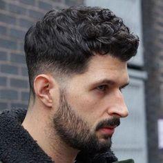 Low Taper Fade + Short Curly Hair