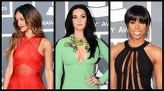 Grammys 2013: Rihanna, Katy Perry, Kelly Rowland: Who Defied CBS's Fashion Memo the Most? (Poll)