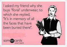 Bahahahahaha, a little inappropriate humor never hurt nobody!