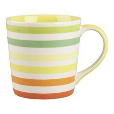 Citrus Stripe Mug from Crate & Barrel.