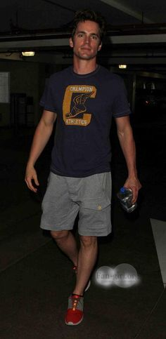 Matt Bomer leaving a Malibu gym 8/11/14 ....