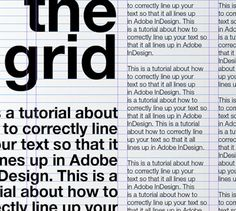 A Tutorial for Good Typography in InDesign - Setting Up a Baseline Grid
