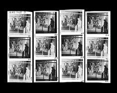 Contact Sheet Inverted Viva Miami 120 Film Contact Sheet, 120 Film, Photo Art, Miami, Baseball Cards