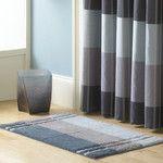 Kashi Home Denise 3 Piece Striped Bath Rug & Reviews | Wayfair
