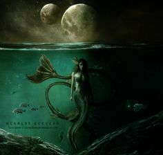 Siren Queen by Carlos-Quevedo.deviantart.com on @deviantART