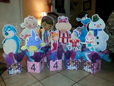 Doc McStuffins and Friends Personalized by PartyPerfectionDecor, $25.00