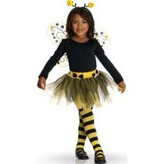 Déguisement abeille tutu fille