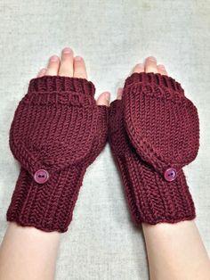 fingerlose handschuhe mit kappe f r kinder aus dicker. Black Bedroom Furniture Sets. Home Design Ideas