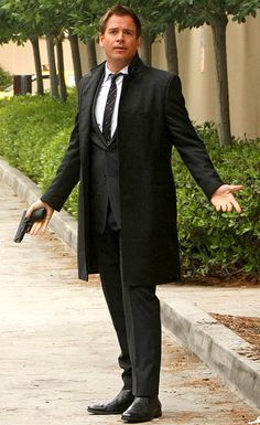 Michael Weatherly as Tony DiNozzo on NCIS  This pop culture-obsessed special agent adds a whole lot more than his observational expertise to a crime scene when he shows up looking so dapper.