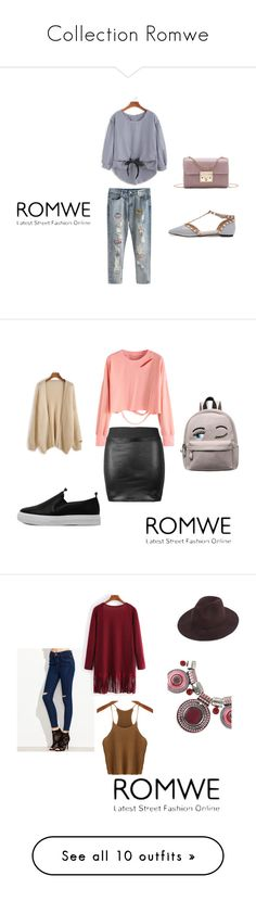 """""""Collection Romwe"""" by seldy-enes ❤ liked on Polyvore featuring vintage"""