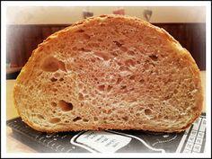 ...svet okolo mňa ...: Lievito madre v akcii...pšenično-ražný chlieb... Bread, Recipes, Food, Basket, Recipies, Brot, Essen, Baking, Meals