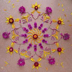 Flower @ danmala : mandala art