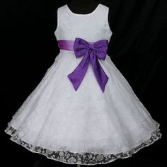 Dark purple children pageant flower girl party dress size 18mo 2 4 6 dark purple children pageant flower girl party dress size 18mo 2 4 6 8 10 12 14 wedding dressed pinterest mightylinksfo