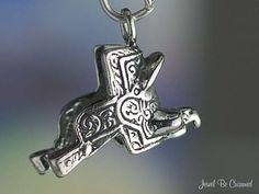Western Saddle Charm Sterling Silver for Horse Horseback Riding