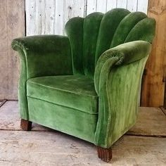 Vintage French art deco armchair - The Hoarde ,  #armchair #art #ArtDecoInterior #Deco #french #hoarde #vintage