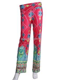 2016 summer palazzo pants Casual High Waist Flare Wide Leg Long women pants Trousers Plus Size floral classic exuma pant preppy