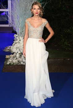 Celebrity Dresses for Thanksgiving Day and Christmas.  Celebs DressesTaylor Swift Embroidered Celebrity Dress Formal Gown Winter White Gala http://www.worldcelebritydresses.com/celebs-dressestaylor-swift-embroidered-celebrity-dress-formal-gown-winter-white-gala.html