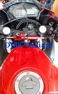 Stabilizer stang yamaha r25 | Kitaco | KTC | stabilizer stang with bracket yamaha r25 | Sterring dumper | Aksesoris r25 | Modifikasi r25