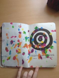 Wreck this journal page that I did :)