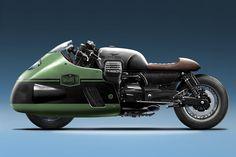 "Racing Cafè : Moto Guzzi ""Vanguard V8 Jeans"" 1400 by Numbnut Motorcycles"