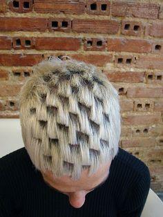 Hatch work, haircut by sabine wip hairport lisbon