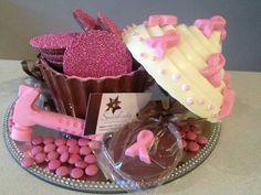 Cake Art in pinks
