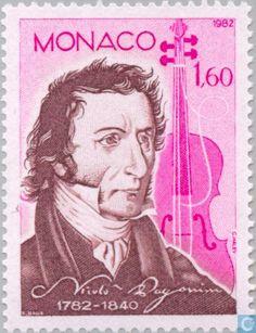 Monaco - Famous artists 1982
