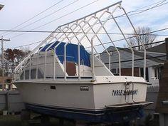 PVC boat winter storage ideas...