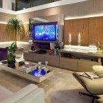 Blog de decoração com desenhos de estantes de tv para salas lindas e atuais.