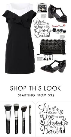 """Sammydress.com: Life doesn´t have to be perfect to be beautiful."" by hamaly ❤ liked on Polyvore featuring shoes, ootd, dresses, bags and sammydress"