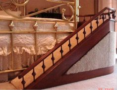 Love this dog ramp for the bed or sofa -you could design this yourself - but great inspiration here.