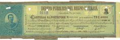 DEBITO PUBBLICO DEL REGNO D' ITALIA - CARTELLE AL PORTATORE - #scripomarket #scriposigns #scripofilia #scripophily #finanza #finance #collezionismo #collectibles #arte #art #scripoart #scripoarte #borsa #stock #azioni #bonds #obbligazioni